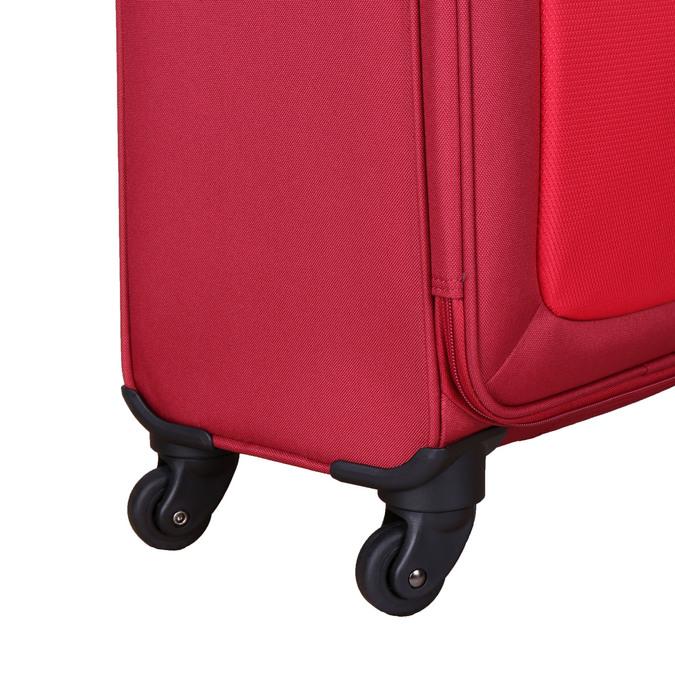 Červený cestovní kufr na kolečkách american-tourister, červená, 969-5208 - 19