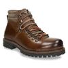 Kožená zimní obuv pánská bata, hnědá, 894-4180 - 13