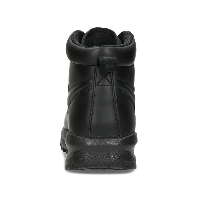 Kožená pánská kotníčková obuv nike, černá, 806-6435 - 15