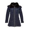 Dámská zimní bunda s kožíškem bata, modrá, 979-9649 - 13