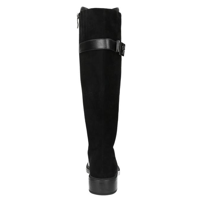 Dámské kozačky v jezdeckém stylu bata, černá, 594-6633 - 17