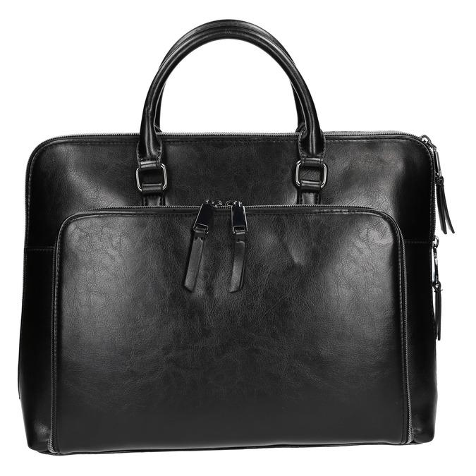 Elegantní taška do ruky bata, černá, 961-6882 - 26