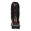Kožená šněrovací obuv na výrazné podešvi weinbrenner, červená, 596-5635 - 17