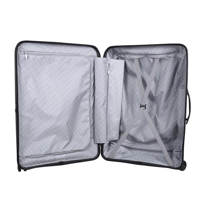 Černý cestovní kufr na kolečkách samsonite, černá, 960-6114 - 15