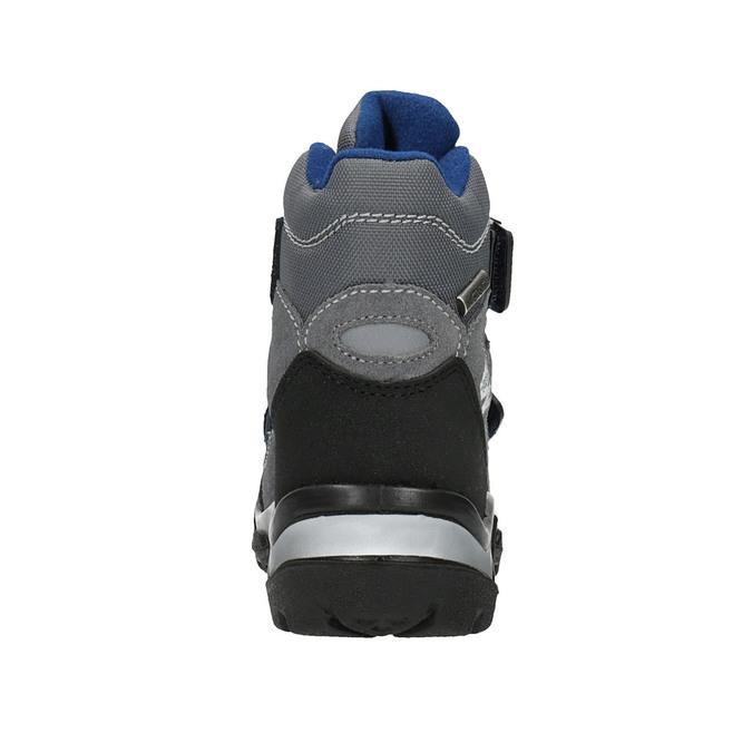 Dětská zimní obuv na suché zipy weinbrenner, šedá, 299-2612 - 17