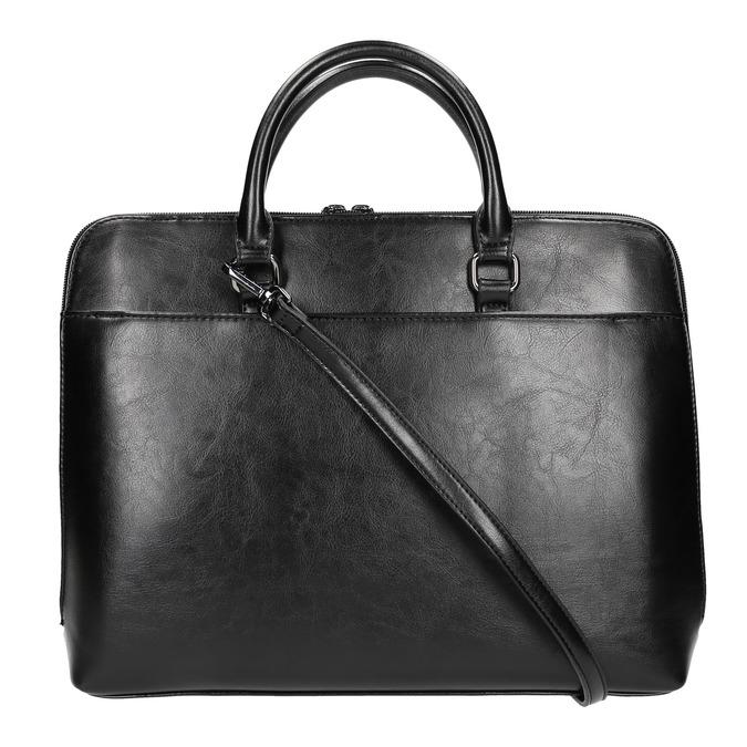 Elegantní taška do ruky bata, černá, 961-6882 - 19