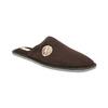 Pánská domácí obuv s plnou špicí bata, hnědá, 879-4609 - 13