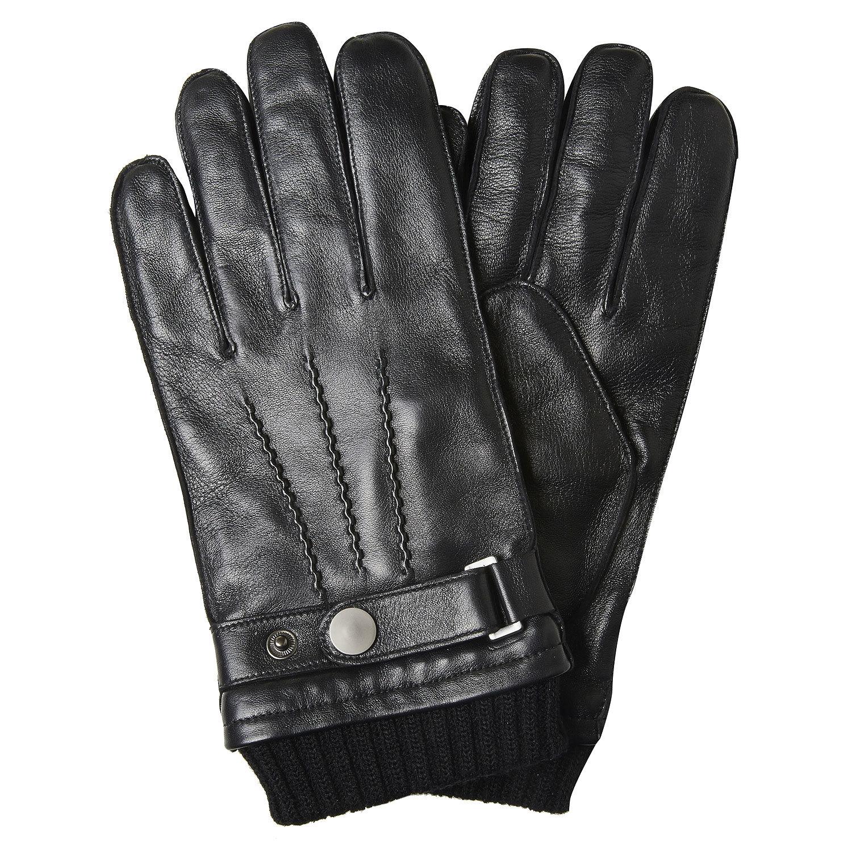 Baťa Pánské kožené rukavice - Pánské  f03fd7af79