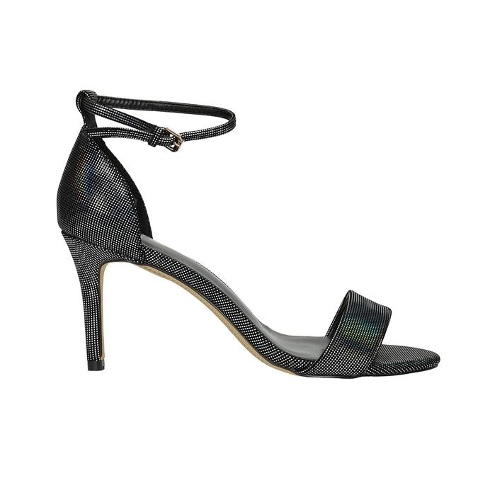 Sandály na jehlovém podpatku s duhovými odlesky bata, 729-0631 - 15