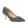 Lodičky na nízkém podpatku bata, stříbrná, 629-8631 - 13