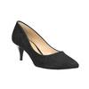 Elegantní lodičky na nízkém podpatku bata, černá, 629-6631 - 13