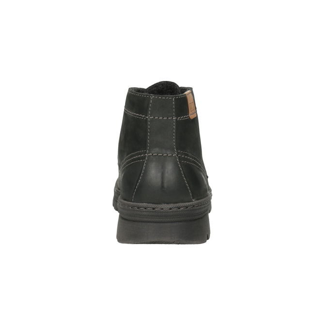 Kožená pánská kotníčková obuv weinbrenner, šedá, 896-2107 - 17