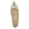 Kožené zlaté lodičky bata, zlatá, 726-8644 - 19