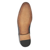 Kožené polobotky se vzorem bata, hnědá, 826-3813 - 26