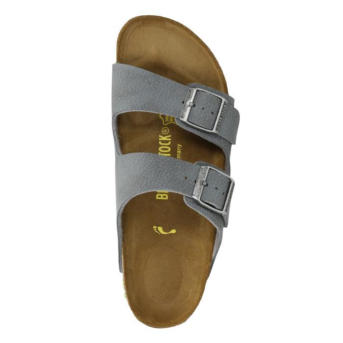 Dětská domácí obuv birkenstock, šedá, 361-2013 - 19
