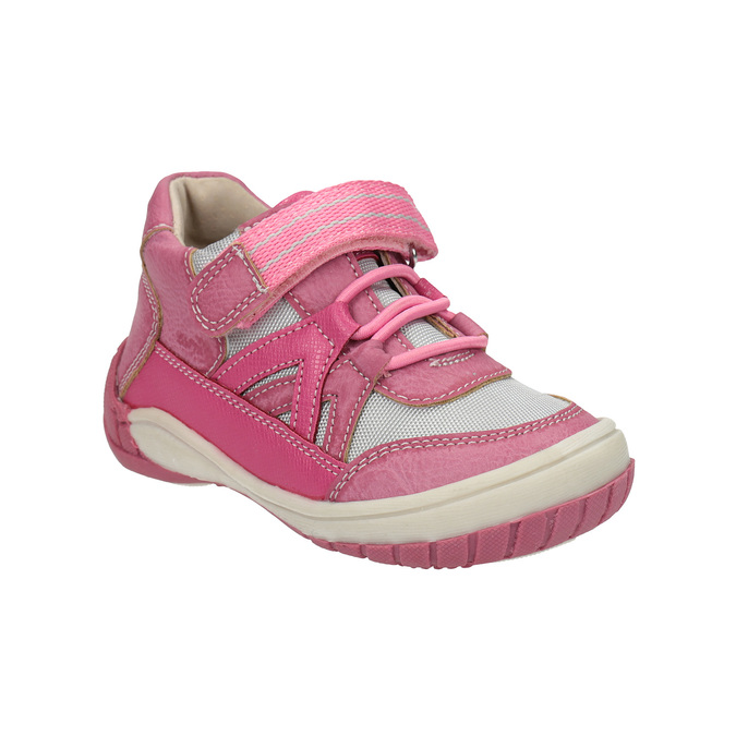 Dětská kotníčková obuv růžová bubblegummers, růžová, 121-5615 - 13