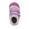 Dívčí kotníčková obuv s kytičkami bubblegummers, fialová, 2020-121-9612 - 19
