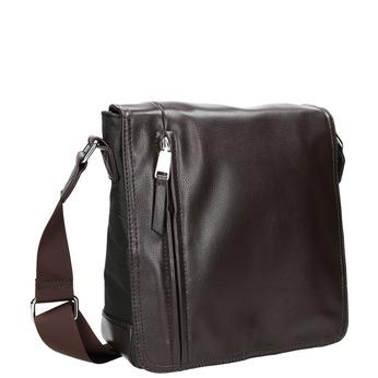 Pánská Crossbody taška bata, hnědá, 961-4508 - 13