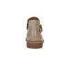 Kožená kotníčková obuv se sponou bata, hnědá, 596-3634 - 17
