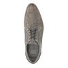 Pánské kožené polobotky na ležérní podešvi bata, hnědá, 824-2746 - 19