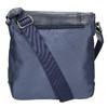 Pánská taška ve stylu Crossbody bata, modrá, 961-9508 - 19