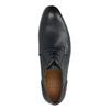 Modré kožené polobotky bata, modrá, 826-9794 - 19