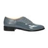 Kožené dámské polobotky bata, modrá, 2021-528-9633 - 15