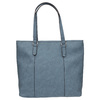 Modrá kabelka s perforovaným detailem bata, modrá, 961-9711 - 19
