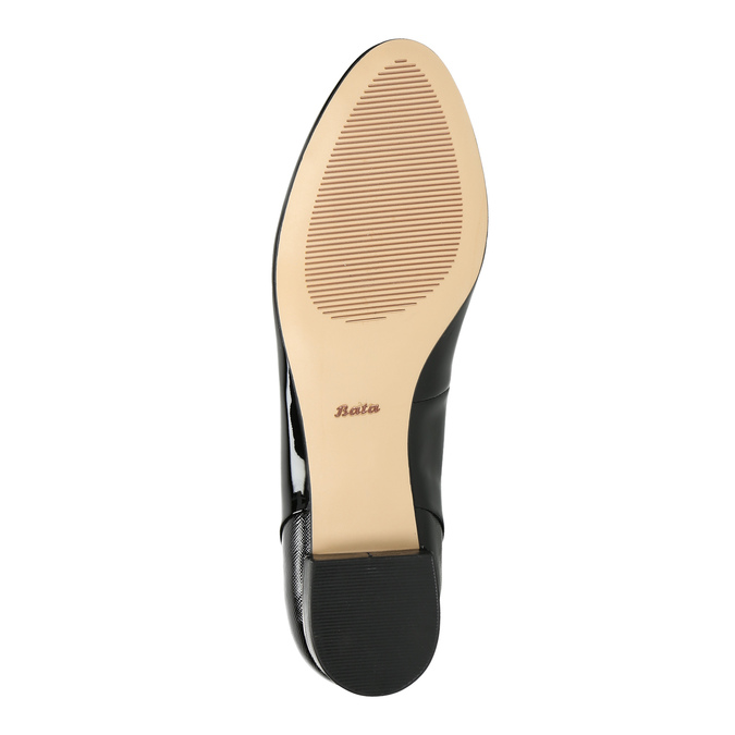 Lakované dámské Loafers bata, 2021-518-6600 - 26