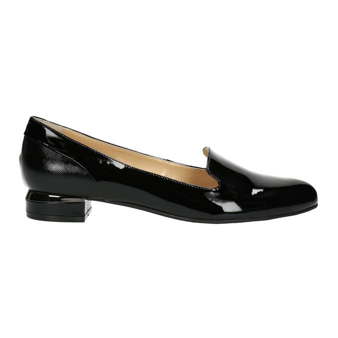 Lakované dámské Loafers bata, 2021-518-6600 - 15