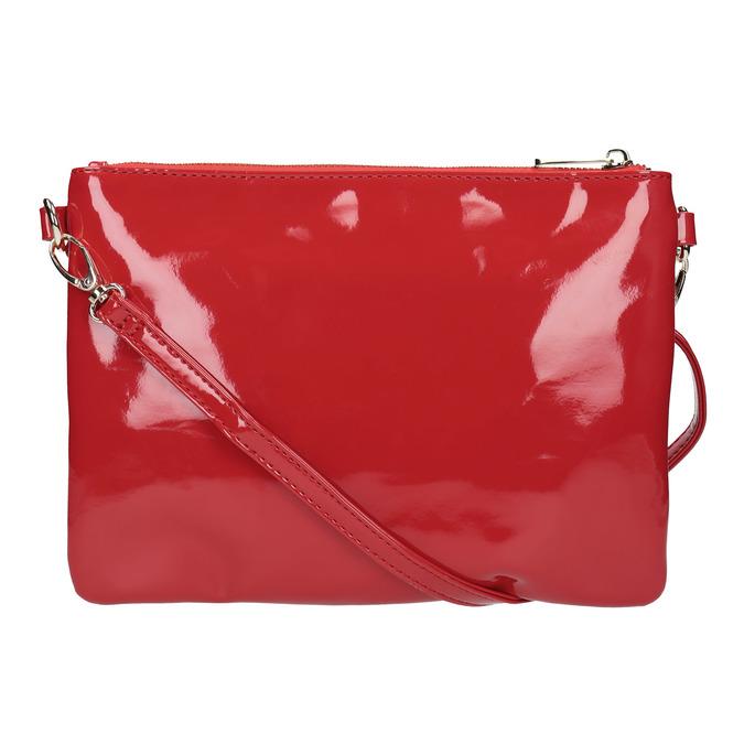 Dámská lakovaná Crossbody kabelka bata, červená, 961-5683 - 19