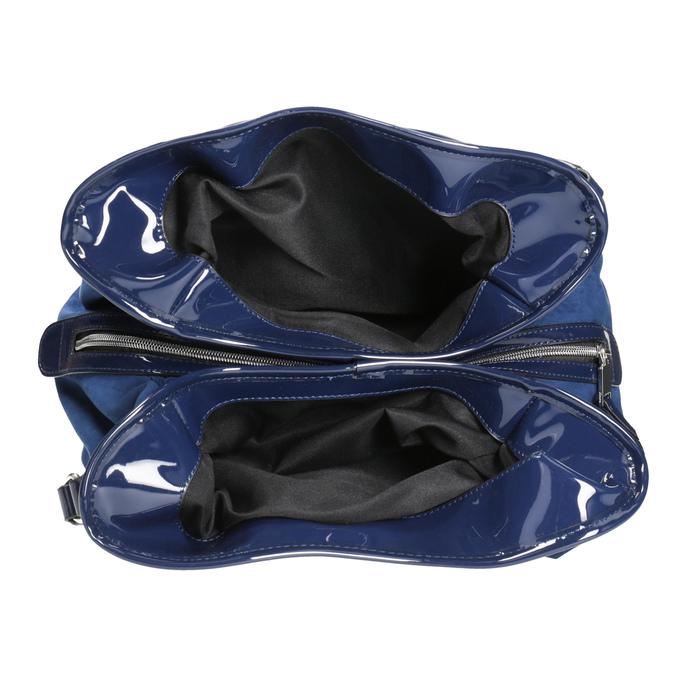 Modrá dámská kabelka bata, modrá, 969-9280 - 15