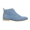 Kožená obuv nad kotníky bata, modrá, 593-9602 - 15