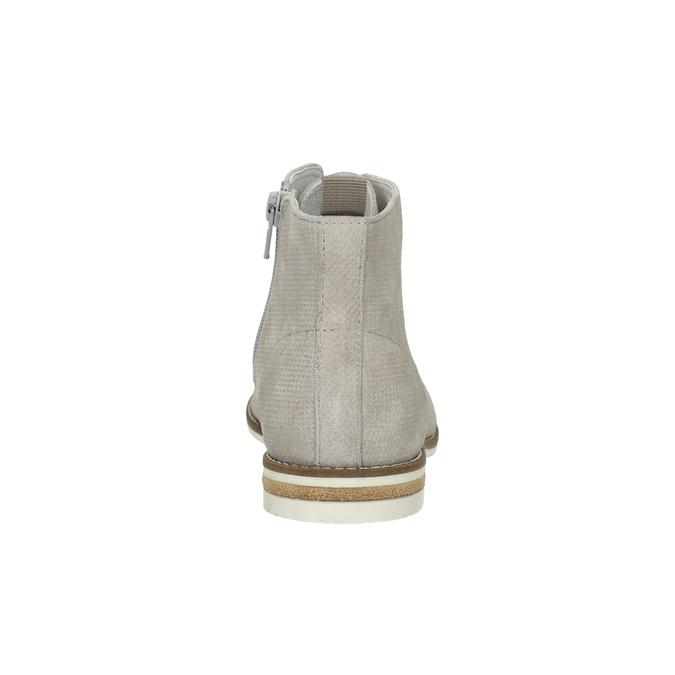 Kotníčková dámská obuv bata, šedá, 593-1602 - 17