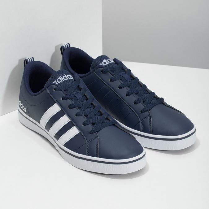 Pánské ležérní tenisky adidas, modrá, 801-9136 - 26