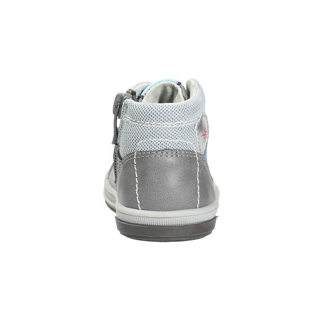 Dětská kožená kotníčková obuv bubblegummers, 2021-114-2600 - 17