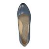 Lodičky na stabilním podpatku pillow-padding, modrá, 626-9637 - 19