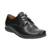 Dámské kožené polobotky bata, černá, 526-6635 - 13