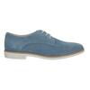 Modré kožené polobotky bata, modrá, 523-9600 - 15