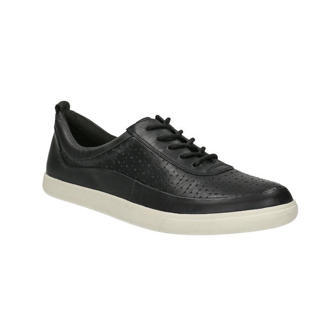 Kožené dámské tenisky bata, černá, 526-6618 - 13