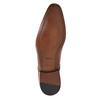 Pánské kožené polobotky bata, hnědá, 826-3836 - 26