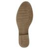 Kožené kotníčkové kozačky bata, šedá, 596-2653 - 26