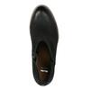 Kožené dámské jarní kozačky bata, černá, 696-6643 - 19