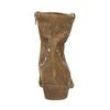 Kožené kotníčkové kozačky bata, hnědá, 596-4653 - 17