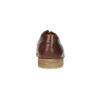 Ležérní kožené polobotky hnědé bata, hnědá, 826-4807 - 17
