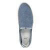 Dámská obuv ve stylu Slip-on bata, modrá, 516-9600 - 19
