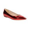 Červené baleríny do špičky bata, 2020-521-5603 - 13