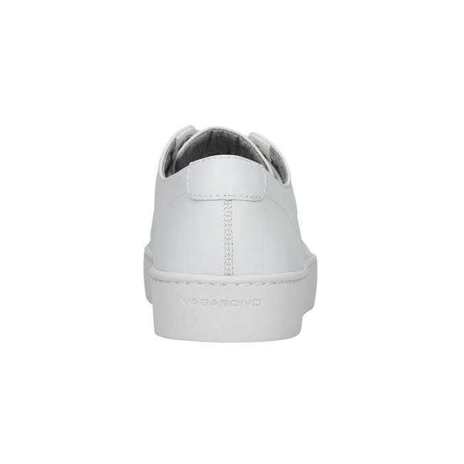 Bílé kožené tenisky vagabond, bílá, 624-1007 - 17