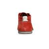 Červené kožené Chukka Boots bugatti, červená, 823-5608 - 17
