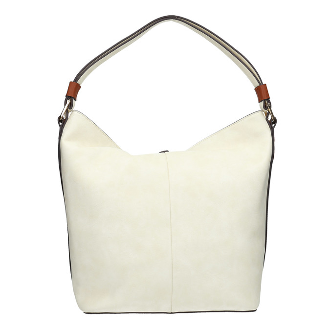 kabelka v Hobo stylu bata, béžová, 961-8705 - 19